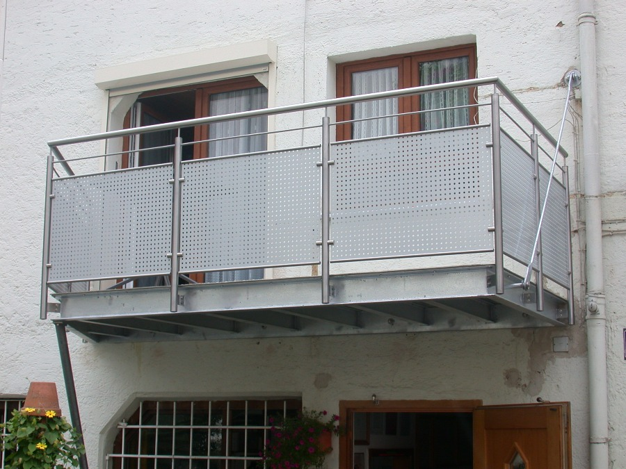 Metallbau Winter Balkone Terrassen